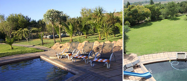 glenda guest suites, beaulieu accommodation, guest house, bed and breakfast, b&b, midrand, accommodation, luxury, swimming pool, garden area